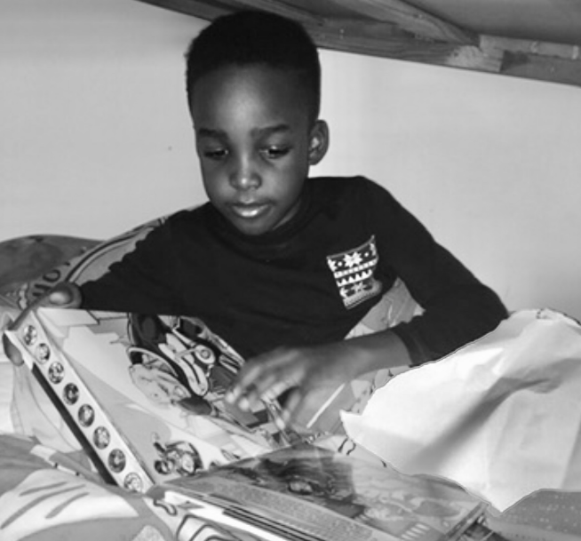 Boys love to read